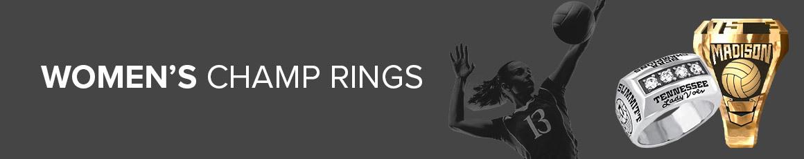 Women's Championship Rings